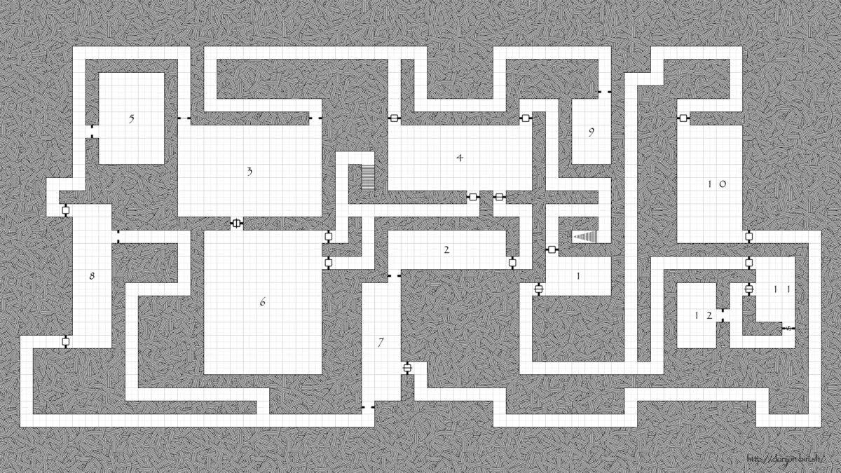 donjon-map-generator